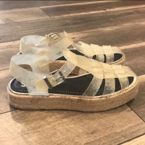 Circus by Sam Edelman jelly Espadrilles sandals 9